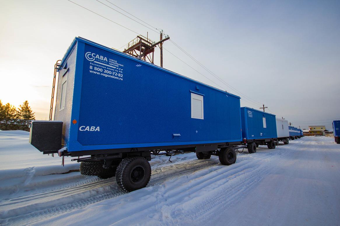 Вагон-дома - купить мобильный вагон-дом в Москве по цене производителя