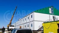 Модульное здание общежитие на 246 человек